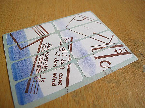 【手作溫度】貼紙:自製裝飾貼紙