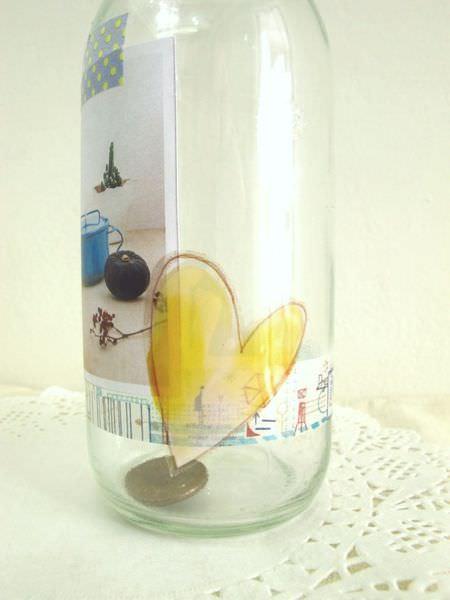 【手作溫度】改造:夢想小瓶子