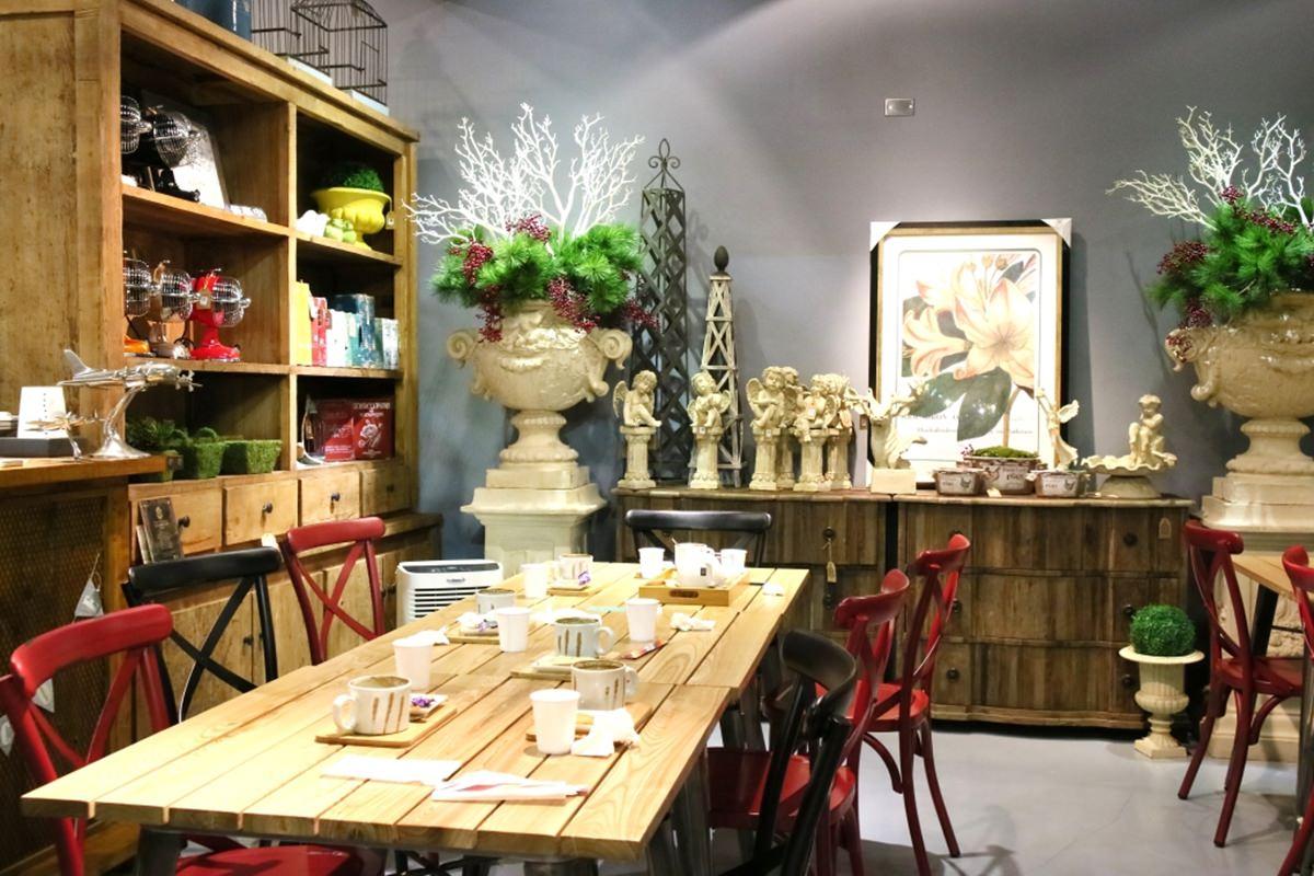 彰化田尾景點|Q Garden 早午餐咖啡/室內設計/進口家飾