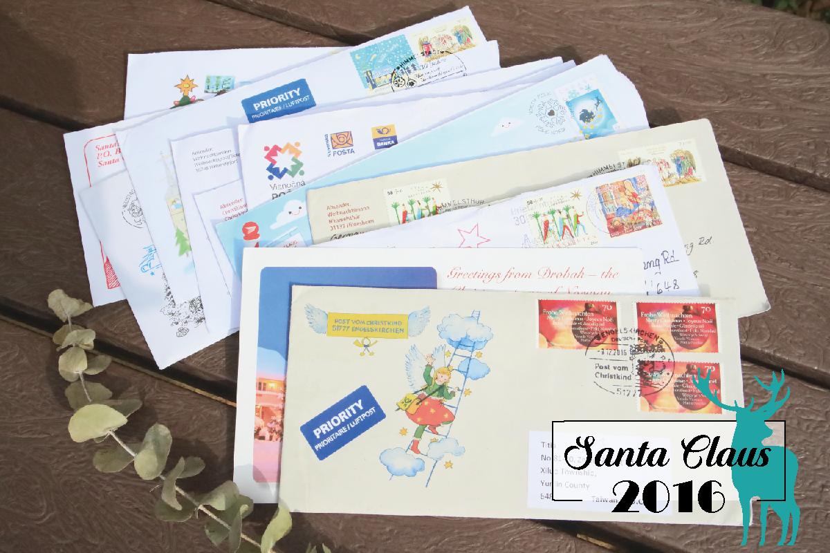 寫信給聖誕老人|2016各國聖誕老公公回信