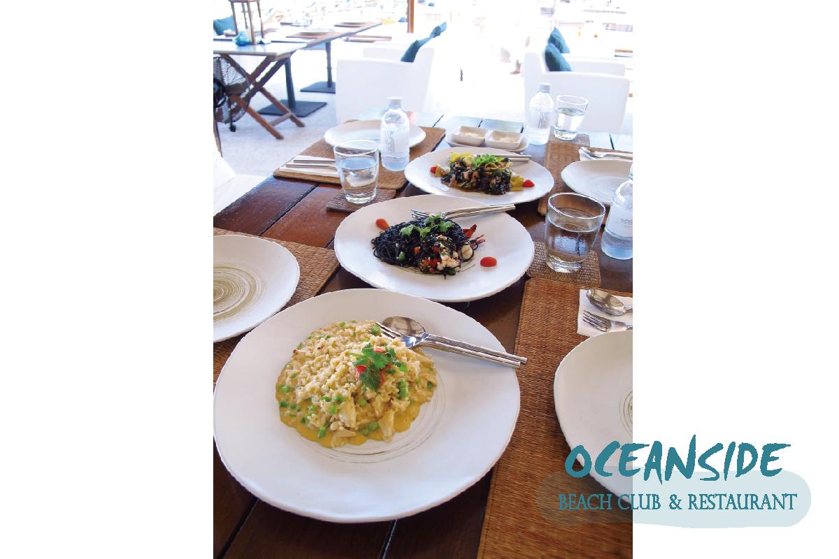 泰國華欣美食|OCEANSIDE 無敵海景一覽無遺的BEACH CLUB