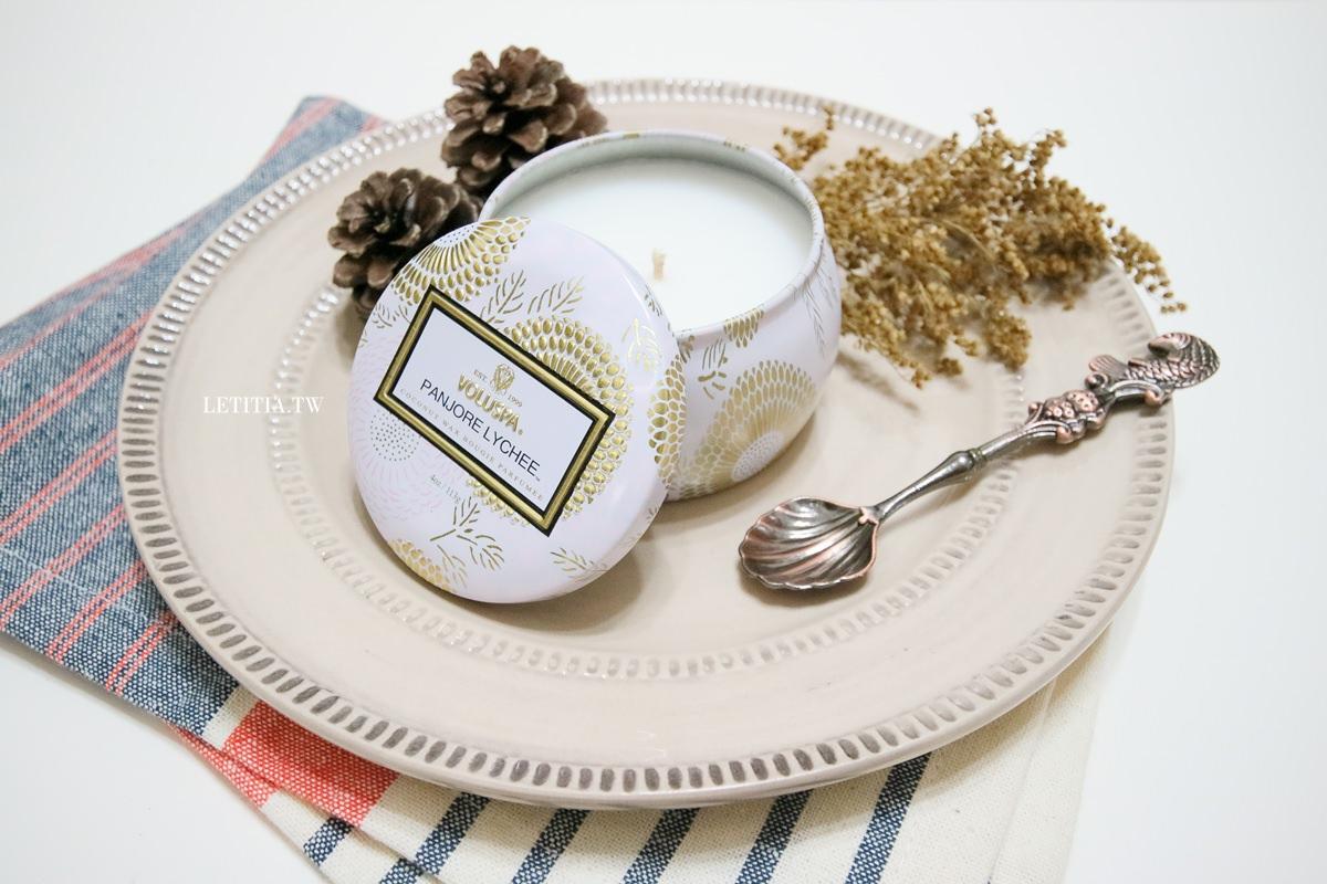 Voluspa香氛蠟燭|冬天裡最奢侈的味覺享受 三款甜甜水果香味推薦給你
