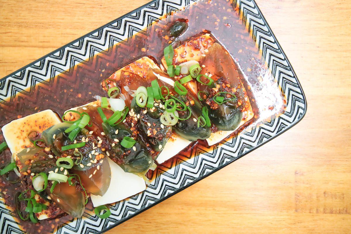 新竹城隍廟美食|北門室食No.40 Beimen 文青風涼麵與煎餅菓子