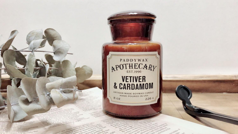 PADDYWAX香氛蠟燭|藥劑師APOTHECARY復古藥罐 乘載精心調配的香氣