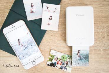 隨時隨地印出珍貴回憶|佳能迷你相片印表機Canon Mini Photo Print PV-123