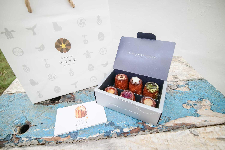 沖繩美食甜點 ほうき星Houkiboshi 港川本店 第一家紅糖甘蔗專賣店製作的可麗露