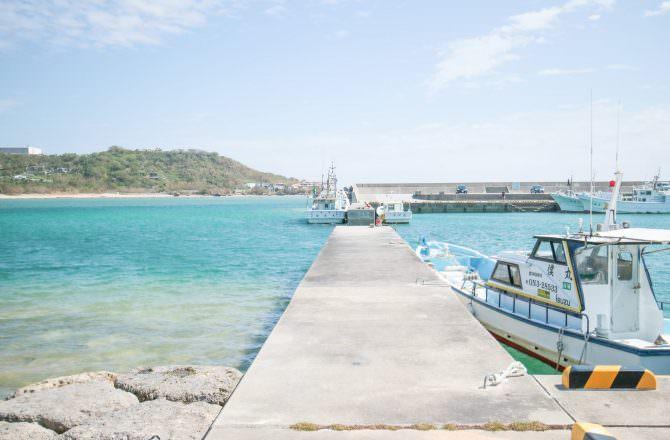 沖繩景點 奧武島 逗弄萌物小貓吃新鮮漁獲現炸天婦羅