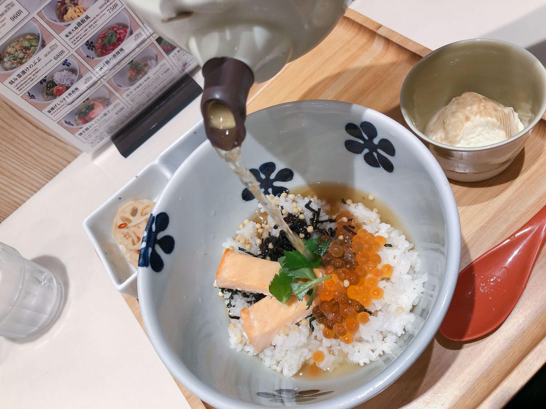 仙台美食 だし茶漬け  轉涼的天氣裡來一碗熱呼呼的茶泡飯剛好