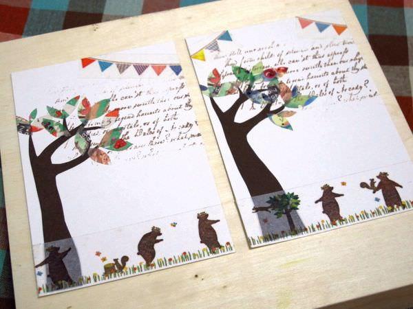 【手作溫度】卡片:來自製卡片寄給聖誕老人吧!