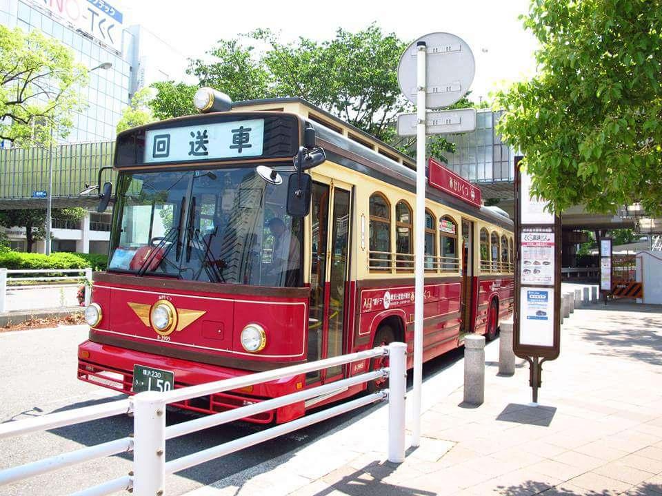 日本橫濱交通攻略|紅鞋號 あかいくつ 穿梭港未來區的復古巴士