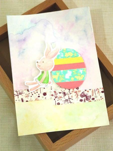 【手作溫度】卡片:來寫信給復活兔吧!