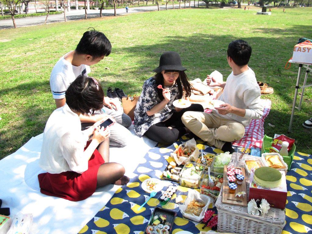 風格野餐日│春暖花開來野餐Bloom in spring 編號001